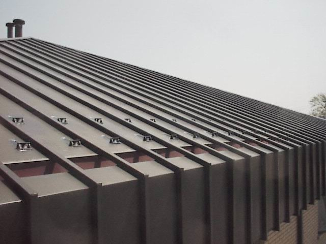 SnoGuards™ For Copper U0026 Standing Seam Roofs: