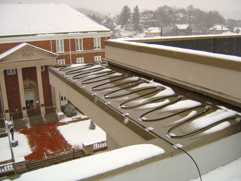 Roof Heater & Roof Heater Cable Install